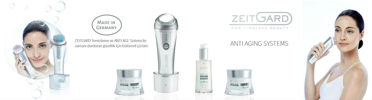 LR ZEITGARD ANTI AGING SYSTEMS %100 MADE IN GERMANY